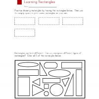 Printable Rectangle Worksheet - Printable Preschool Worksheets - Free Printable Worksheets