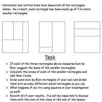 Printable Rectangular Problems - Free Printable Math Worksheets - Free Printable Worksheets