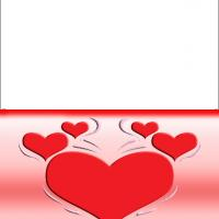 Printable Red Hearts Day - Printable Valentines - Free Printable Cards