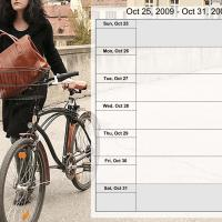 Relaxing Theme Weekly Planner Oct 25 to Oct 31 2009