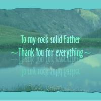 Printable Rock Solid Father - Printable Fathers Day Cards - Free Printable Cards