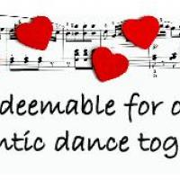 Printable Romantic Dance Coupon - Printable Misc Coupons - Free Printable Coupons