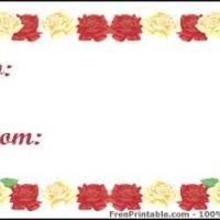 Roses Gift Card