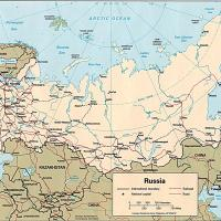 Printable Russia Political Map - Printable Maps - Misc Printables