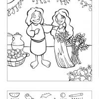 Printable Ruth And Boaz - Printable Brain Teasers - Free Printable Games