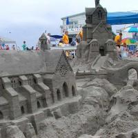 Sand Sculpture Village