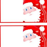 Santa Face Gift Card