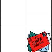 Printable Santa at the North Pole - Printable Christmas Cards - Free Printable Cards