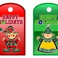 Printable Santa's Elves Label - Printable Labels - Misc Printables