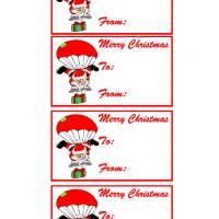 Santa's Parachute