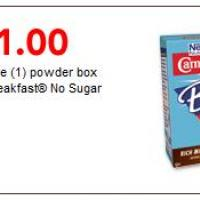 Save $1 Carnation Instant Breakfast