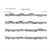 Printable Saxophone - Jingle Bells - Printable Saxophone Music - Free Printable Music