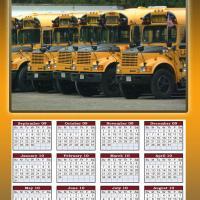 School Bus 2009-2010 Calendar