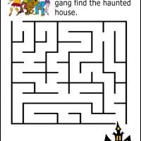 Printable Scooby and Friends Maze - Printable Mazes - Free Printable Games
