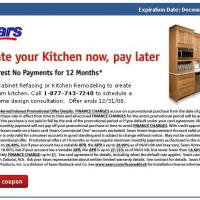 Sears Kitchen Update
