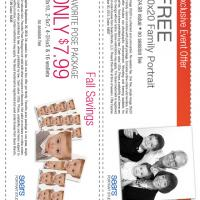 Sears Portrait Coupons