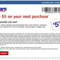Printable Sears Save $5 - Printable Local Coupons - Free Printable Coupons