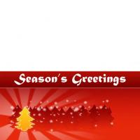 Printable Season's Greetings Cheer - Printable Christmas Cards - Free Printable Cards