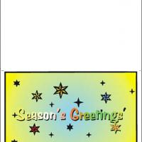 Printable Season's Greetings - Printable Christmas Cards - Free Printable Cards