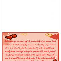 Printable Shall I Compare You To A Summer's Day? - Printable Valentines - Free Printable Cards