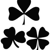 Shamrock Stencil