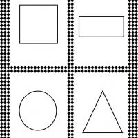 Basic Shape Flash Cards