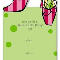 Shoes Bachelorette Invitation