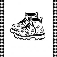 Printable Shoes Flash Card - Printable Flash Cards - Free Printable Lessons