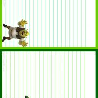 Printable Shrek and Fiona Stationary - Printable Stationary - Free Printable Activities