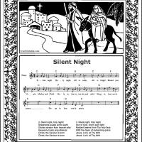 Printable Silent Night - Printable Piano Music - Free Printable Music