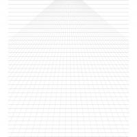 "Printable 8.5""x11"" Single Point Perspective Graph Paper - Printable Paper - Misc Printables"