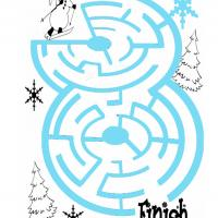 Ski Maze