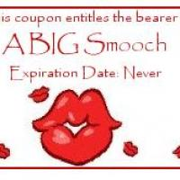 Printable Smooching Coupon - Printable Misc Coupons - Free Printable Coupons