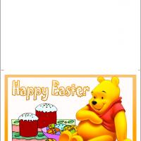 Printable Some Bunny Loves You Pooh - Printable Easter Cards - Free Printable Cards
