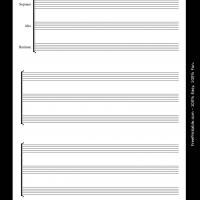 Printable Soprano Alto Baritone - Printable Sheet Music - Free Printable Music