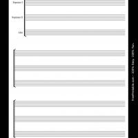 Printable Soprano I and II Alto - Printable Sheet Music - Free Printable Music