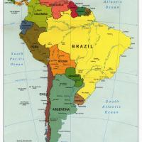 South America Political Map