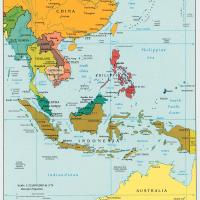 Printable Southeast Asia Political Map - Printable Maps - Misc Printables