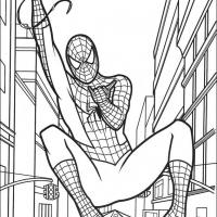 Spiderman in Streests of New York