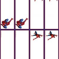 Spiderman Name Tags