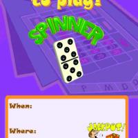 Spinner Invitation