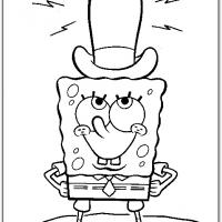 Spongebob And His Top Hat
