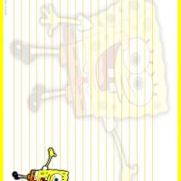 Spongebob Stationary