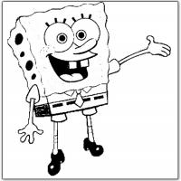 Printable Spongebob Welcome - Printable Spongebob - Free Printable Coloring Pages
