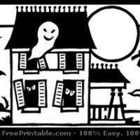 Printable Spooky Bookmark - Printable Bookmarks - Free Printable Crafts