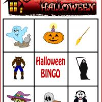Spooky Halloween Bingo Card 2