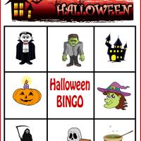 Spooky Halloween Bingo Card 3