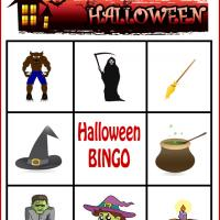 Spooky Halloween Bingo Card 4