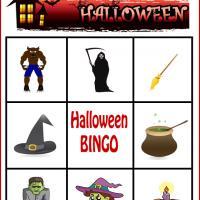 Spooky Halloween Bingo Card 4