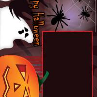 Printable Spooky Halloween Scrapbook - Printable Scrapbook - Free Printable Crafts